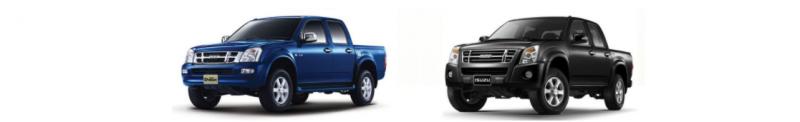 ยางติดรถยนต์ Isuzu D-Max และ Chevrolet Colorado
